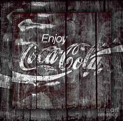Coca Cola Sign Print by John Stephens