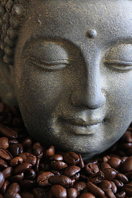 Kaffee Photograph - Coffee Buddha by Falko Follert