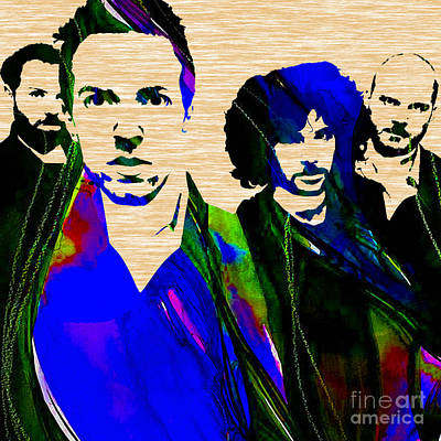 Coldplay Mixed Media - Coldplay Collection by Marvin Blaine