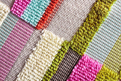 Tapestries Textiles Photograph - Colorful Cloth by Tom Gowanlock