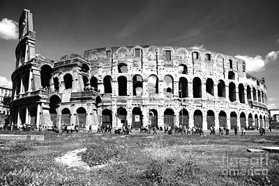 Colosseum Art Print by Stefano Senise