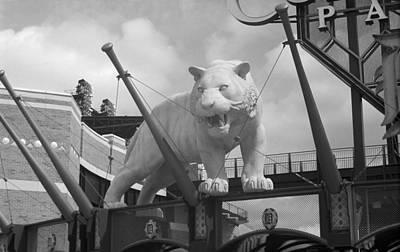 Comerica Park - Detroit Tigers Art Print by Frank Romeo