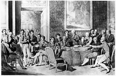 Maurice Richard Painting - Congress Of Vienna, 1815 by Granger