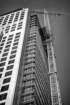 Photograph - Construction Site by Rudy Umans