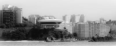 Photograph - Contemporary Museum Of Art In The City Of Niteroi by Celso Diniz
