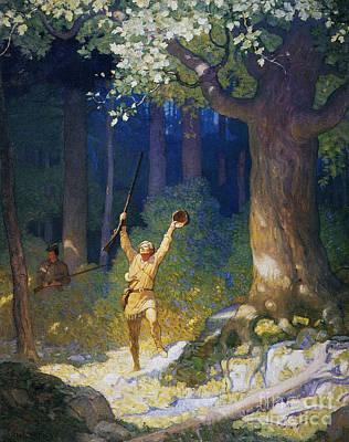 Cooper: Deerslayer, 1925 Art Print by Granger