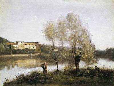 Realism Photograph - Corot, Jean-baptiste Camille 1796-1875 by Everett