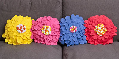 Colorful And Creative Photograph - Cushions by Tom Gowanlock