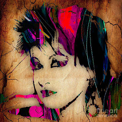 Lauper Mixed Media - Cyndi Lauper Collection by Marvin Blaine