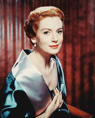 Deborah Kerr Art Print by Silver Screen
