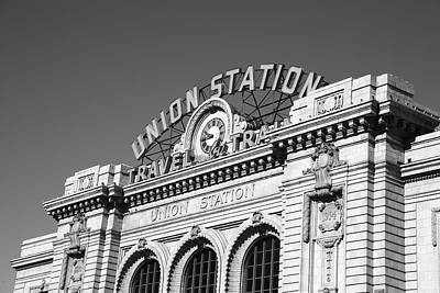 Mural Photograph - Denver - Union Station by Frank Romeo