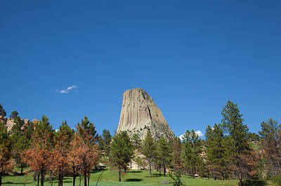 Photograph - Devil's Tower by Scott Sanders