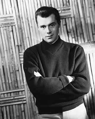 Dirk Photograph - Dirk Bogarde by Silver Screen