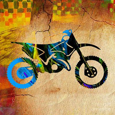 Dirt Bike Art Print