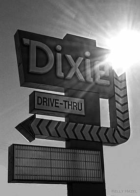 Photograph - Dixie Drive Thru by Kelly Hazel