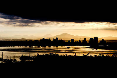 Whalen Photograph - Downtown San Diego Sunrise by Josh Whalen