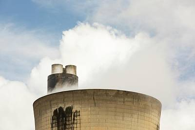 Drax Power Station In Yorkshire Art Print by Ashley Cooper