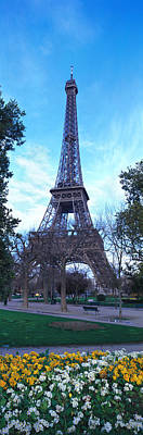 Gustave Photograph - Eiffel Tower Paris France by Panoramic Images
