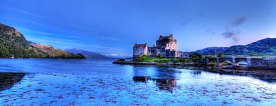 Fantasy Royalty-Free and Rights-Managed Images - Eilean Donan Castle by Ollie Taylor