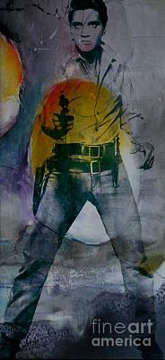 Elvis Art Print by Marvin Blaine