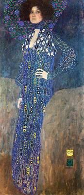 Painting - Emilie Floege by Gustav Klimt