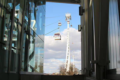 Emirates Air Line Art Print