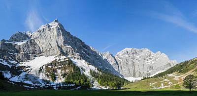Eng Valley, Karwendel Mountain Range Art Print