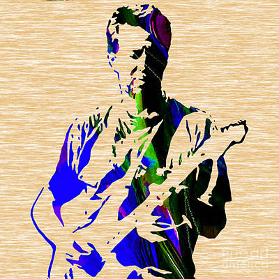 Eric Clapton Collection Art Print