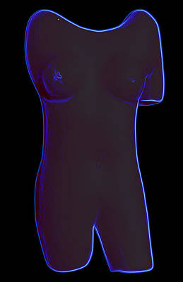 Digital Art - EVA by Kenneth Clarke