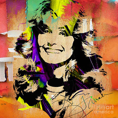 Angel Mixed Media - Farrah Fawcett Collection by Marvin Blaine