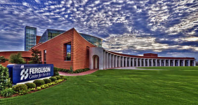Photograph - Ferguson Center For The Arts by Jerry Gammon