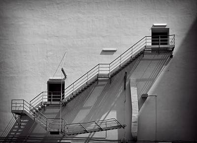 Photograph - Fire Escape by Rudy Umans