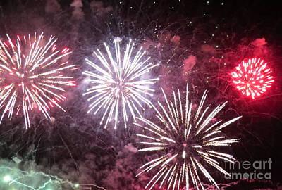 Photograph - Fireworks 8 by France Laliberte