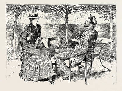 First Person Singular Art Print by Charles Stanley Reinhart (may 16, 1844 - August 30, 1896), American