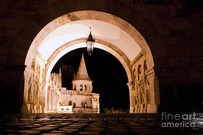 Monument Photograph - Fisherman's Bastion In Budapest by Michal Bednarek