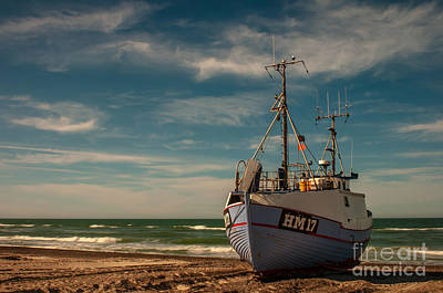 Photograph - Fishing Boat by Jorgen Norgaard