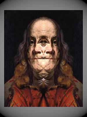 Digital Art - Flipped Ben 2 by Zac AlleyWalker Lowing
