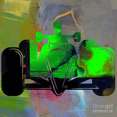 Formula One Race Car Art Print