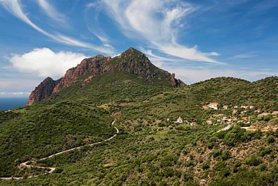 Sud Photograph - France, Corsica, Golfe De Girolata by Walter Bibikow