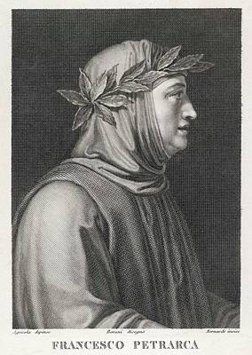 Francesco Petrarch  Italian Poet Art Print by Mary Evans Picture Library