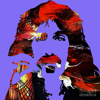 Mixed Media - Frank Zappa Collection by Marvin Blaine