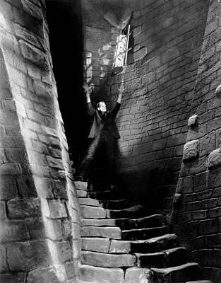 Dungeon Photograph - Frankenstein, Boris Karloff, 1931 by Everett