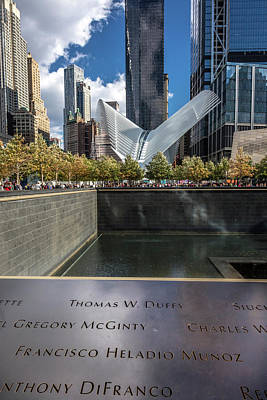 9-11 Wall Art - Photograph - Freedom Tower And Oculos - Seen by Panoramic Images