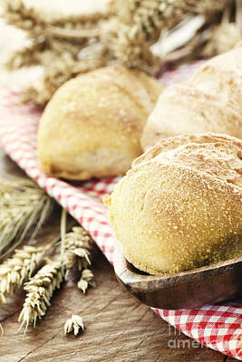 Mythja Photograph - Fresh Bread by Mythja  Photography