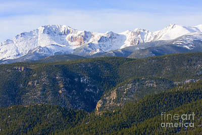 Steven Krull Royalty-Free and Rights-Managed Images - Fresh Snow by Steven Krull