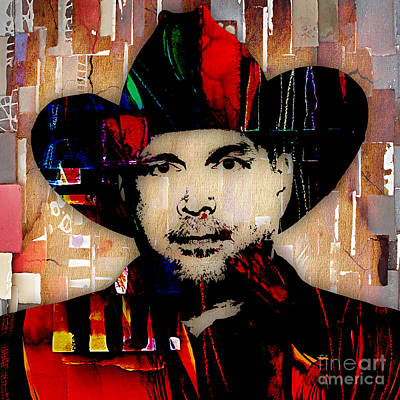 Garth Brooks Photograph - Garth Brooks Collection by Marvin Blaine