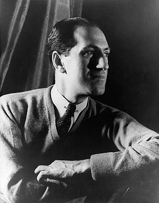 George Gershwin (1898-1937) Art Print by Granger