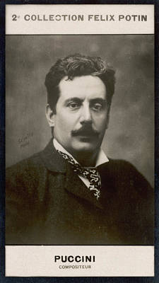 Gr/ö/ße 30,5/x 20,3/cm Giacomo Puccini unterzeichnet Foto Print ca