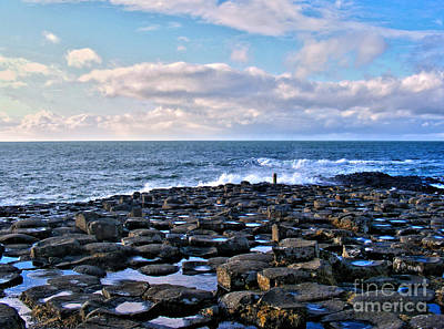 Photograph - Giant's Causeway Coast by Nina Ficur Feenan