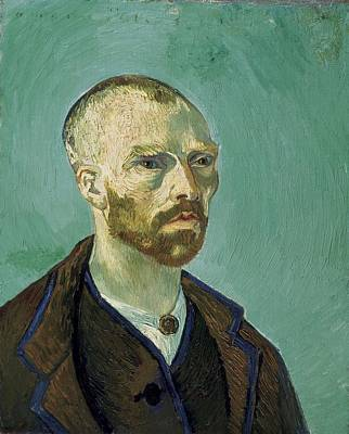 Self-portrait Photograph - Gogh, Vincent Van 1853-1890 by Everett